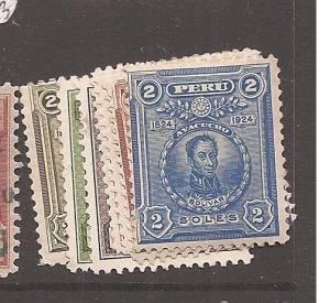 Peru 1924 SC 234-41 MOG (1ayn)