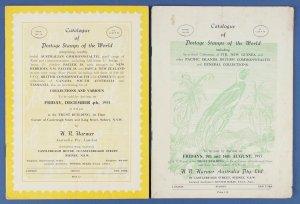 AUSTRALIA : Harmer Sydney 1953 Auction No 79.