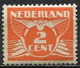 Netherlands; 1924: Sc. # 143: */MH Single Stamp
