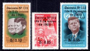 Panama C367-C367B MNH VF