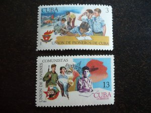 Stamps - Cuba - Scott#1389-1390 - MNH Set of 2 Stamps