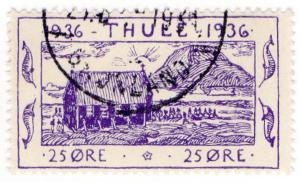 (I.B-CK) Greenland Cinderella : Thule 25 Øre