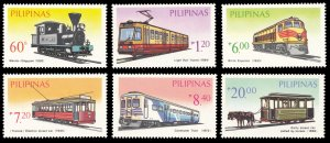 Philippines 1984 Scott #1731A-1731F Mint Never Hinged