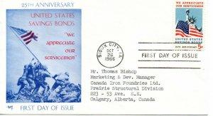 US FDC #1320 Savings Bonds, Marg (10075)