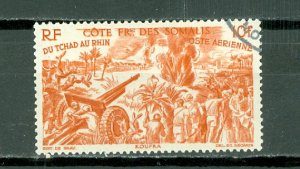 SOMALI COAST CHAD-RHINE #C10...USED NO THINS..$1.90
