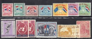 PARAGUAY  STAMP LOT #1 **MNH+MH**   SEE SCAN