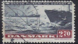 DENMARK SCOTT# 761 USED 2.70k  1984 SEA TRANSPORT    SEE SCAN