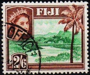 Fiji. 1954 2s6d S.G.292a Fine Used
