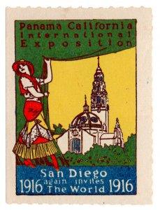 (I.B) US Cinderella : Panama California Exposition (San Diego 1916)