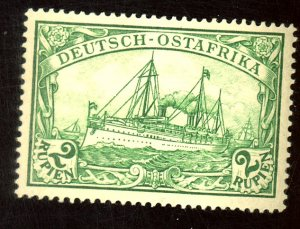 GERMAN EAST AFRICA #40 MINT VF OG LH Cat $48