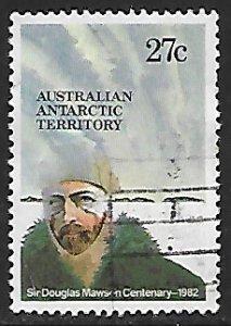 Australian Antarctic Territory # L53 - Sir Douglas Mawson - Used....(KlBl9)