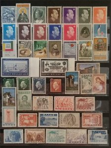GREECE Early Stamp Lot MH OG T11130