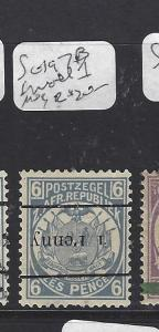 TRANSVAAL  (PP2909B) SG 197B  INV OVPT AND SMALL 1   MOG