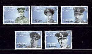 Solomon Is 1100-04 MNH 2008 Royal Air Force