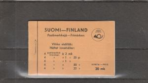 Finland  Scott#  173  MNH  Complete Booklet  (1936 Lion Type)