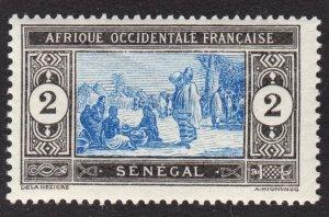 Senegal Scott 80 F+ mint OG HR.