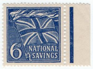 (I.B) Cinderella Collection : National Savings - Flaming Cross 6d