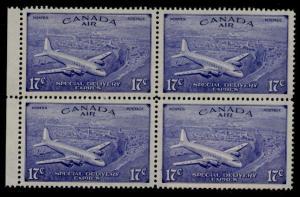 Canada CE3 Block of 4 MNH Aircraft