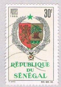 Senegal 274 Used Arms of Senegal 1966 (BP3015)