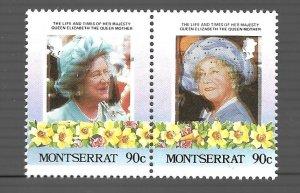 Montserrat 1985 - MNH - Pair - Scott #559 *