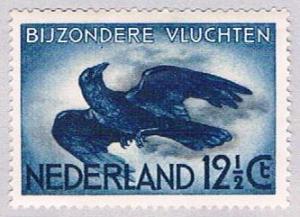 Netherlands C11 MLH Crow in flight 1938 (BP32528)