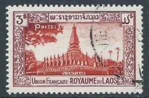 Laos, Sc #14, Used