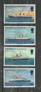 Guernsey Scott catalogue #77-80 Mint NH