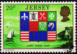Jersey. 1976 20p S.G.150 Fine Used