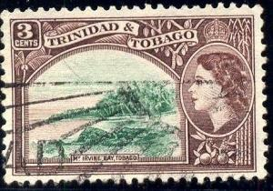 Mt. Irvine Bay, Tobago, Trinidad & Tobago stamp SC#74 used