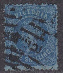 Victoria Sc #138 Used; Mi #74