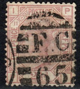 Great Britain #67 Plate 11 F-VF Used CV $60.00 (X595)
