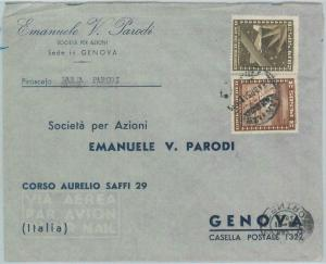 81527 - CHILE - POSTAL HISTORY -    AIRMAIL COVER to ITALY  1954