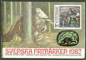 SWEDEN 1982 OFFICIAL YEARSET