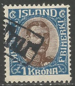 ICELAND 126 VFU REVENUE CDS A819-2