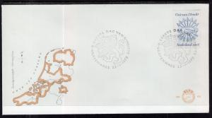 Netherlands 584 U/A FDC