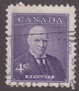 Canada 357 Richard Bennett 4¢ 1955
