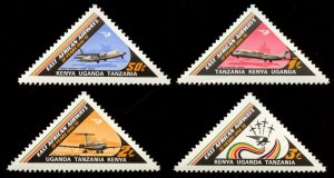 Kenya Uganda & Tanzania, Scott # 320-3 East African Airways MNH, 2017 SCV $11.75