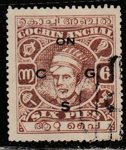 Inde / Cochin  O59  (O)  1944  Official stamp