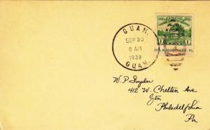 1937, Naval Station Hospital, Guam to Philadelphia, PA (24347)