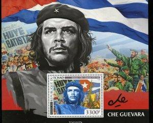 CHAD  2021 CHE GUEVARA  SOUVENIR SHEET MINT NEVER HINGED
