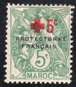 FRENCH MOROCCO SCOTT B6