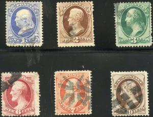 #145-150 FINE USED SHORT SET WITH SOME FAULTS CV $217.00 BP2315