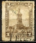Mexico; 1925: Sc. # RA1; O/Used Single Stamp