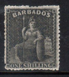 Barbados #21 Very Fine Mint Full Original Gum Hinged