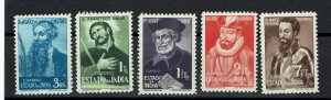 D - India 1948 Vultos da India complet set MNG # 384/88