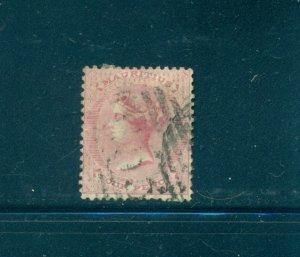 Mauritius - Sc# 26. 1860 Victoria 4p Used. $42.50.
