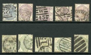 SG187/96 Lilac and Green set a few faults but cat 1600 pounds