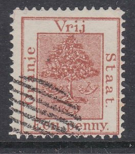 ORANGE FREE STATE  An old forgery of a classic stamp........................C950