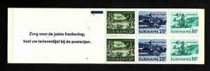 Suriname-Sc#C77a-unused NH complete airmail booklet-1976-78-