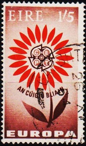 Ireland. 1964 1s5d S.G.204 Fine Used